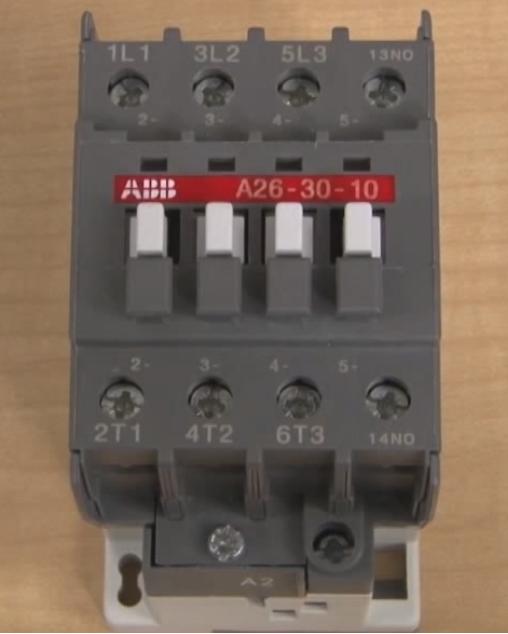 Подключение трехфазного магнитного пускателя. Схема прямого и реверсивного включения