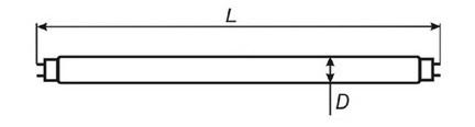 Люминесцентная лампа ЛБ ЛД